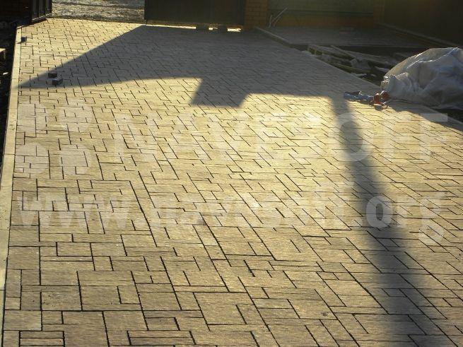 """Тротуарная плитка """"тракт"""""""