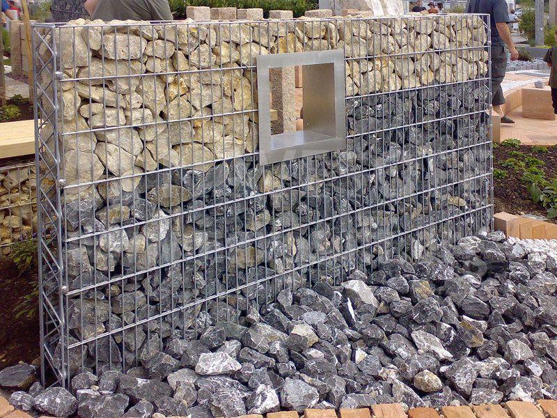 Фундамент из камня для забора из прута металлического своими руками